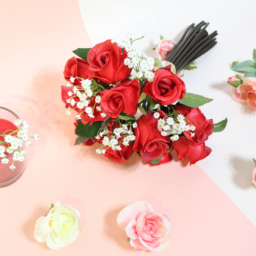 Tiny Rose LED Bouquet RD