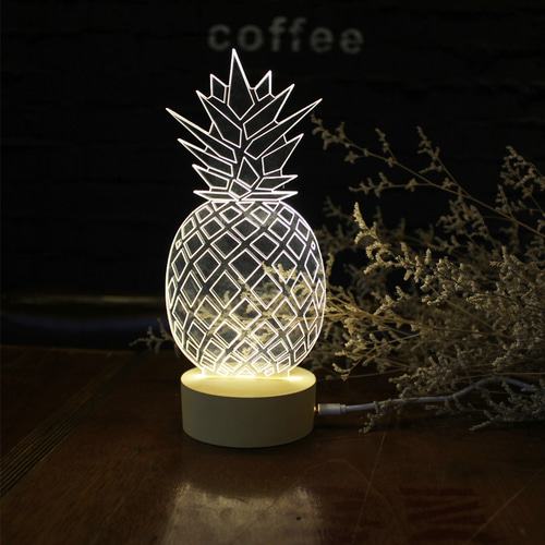 pineapple LED moodlights