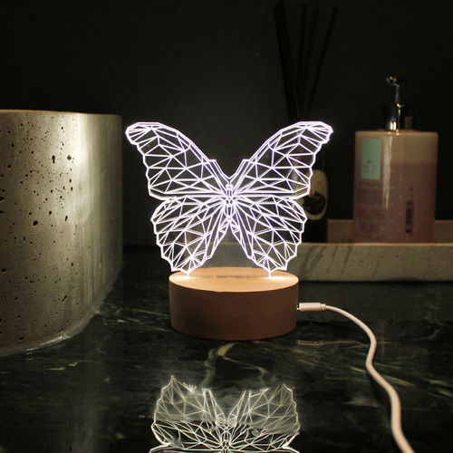 butterfly LED moodlights